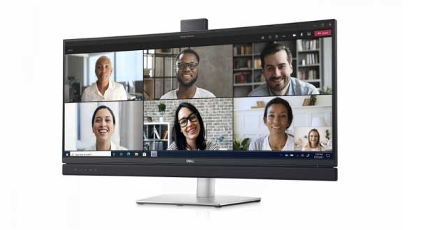 Moniteur Dell 34 Curved Video Conferencing Monitor C3422WE