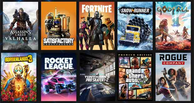 Epic Games Store 2020 Year in Review