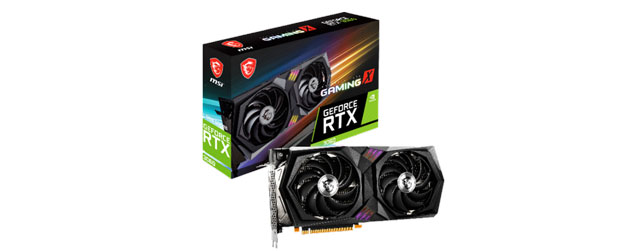 GeForce RTX 3060 Gaming de MSI