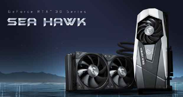 GeForce RTX 30 SeaHawk X de MSI