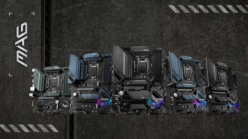 Cartes mères Intel MAG 500 series de MSI