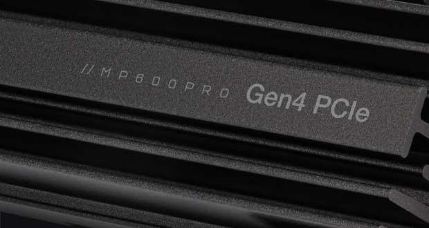 SSD M.2 NVMe PCIe Gen4 x4 CORSAIR MP600 PRO
