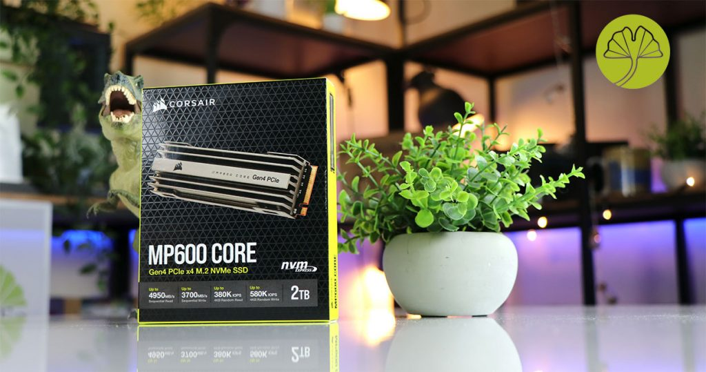 SSD MP600 Core 2 To de Corsair