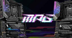 Cartes mères Intel MPG 500 series de MSI