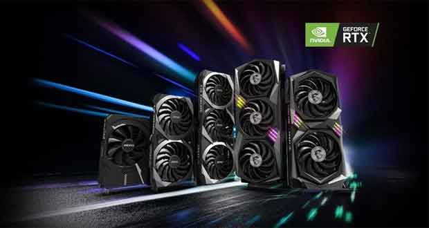 GeForce RTX 3060 series de MSI