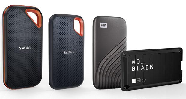 SSD externes WD