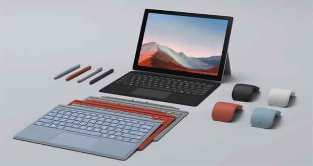 Tablette Surface Pro 7+ de Microsoft