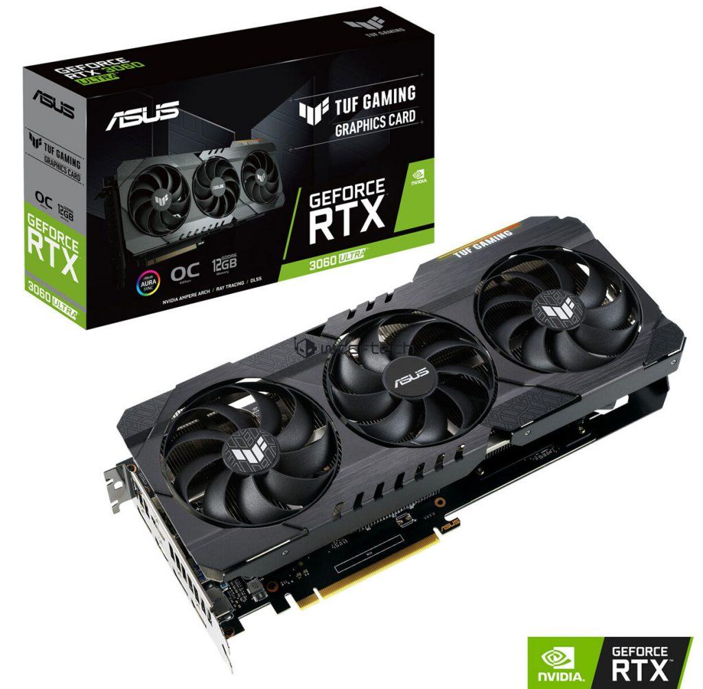 TUF Gaming GeForce RTX 3060 Ultra d'Asus