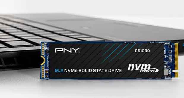 SSD NVMe CS1030 de PNY