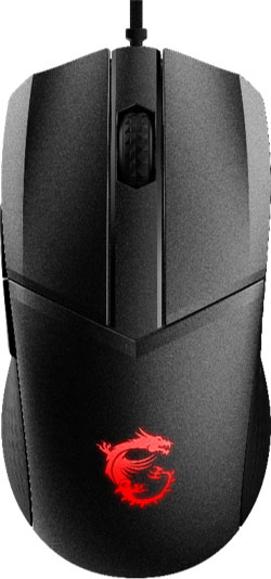 Souris gaming Clutch GM41 Lightweight de MSI
