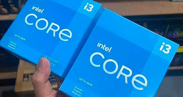 Processeur Core i3-10105F