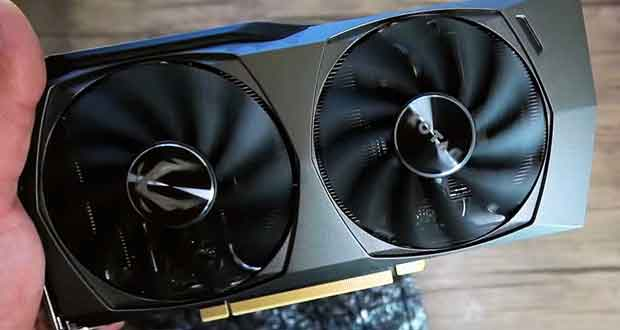 GeForce RTX 3060 de Zotac