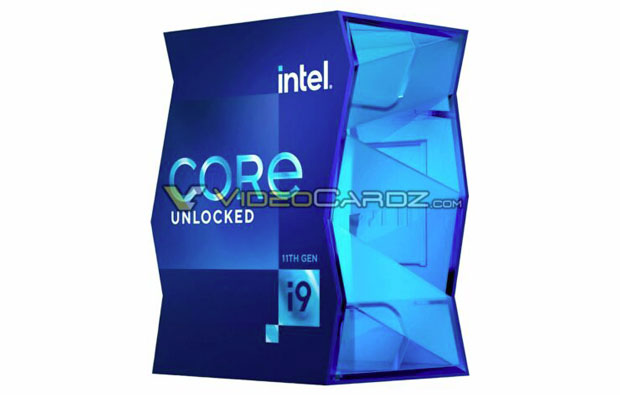 Intel Core i9-11900K packaging, Source: VideoCardz