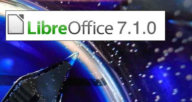 Suite bureautique LibreOffice 7.1