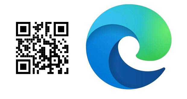 Microsoft Edge et sa fonction QR Code pour le partage de lien
