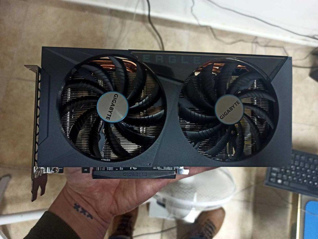 GeForce RTX 3060 Eagle OC 12G de Gigabyte