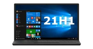 Windows 10 21H1 de Microsoft