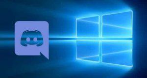 Windows 10 et l'application Discord