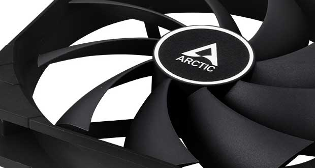 Ventilateur F12 PWM PST CO Black d'Artic