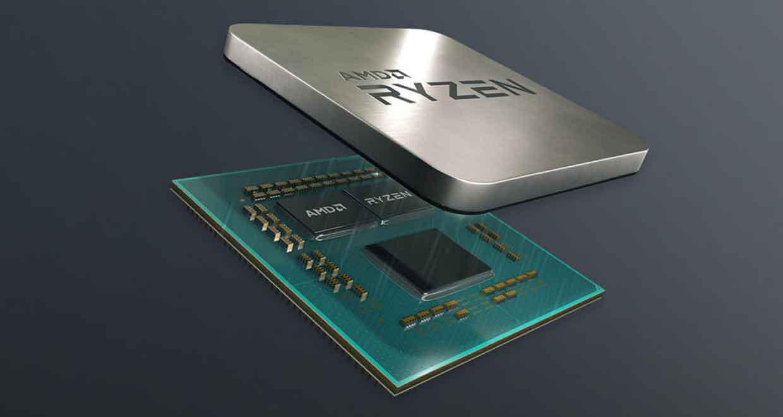 Processeur APU Ryzen d'AMD