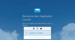 Application Courrier de Windows 10