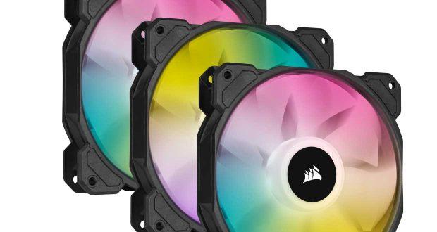 Ventilateur iCUE SP RGB ELITE de Corsair