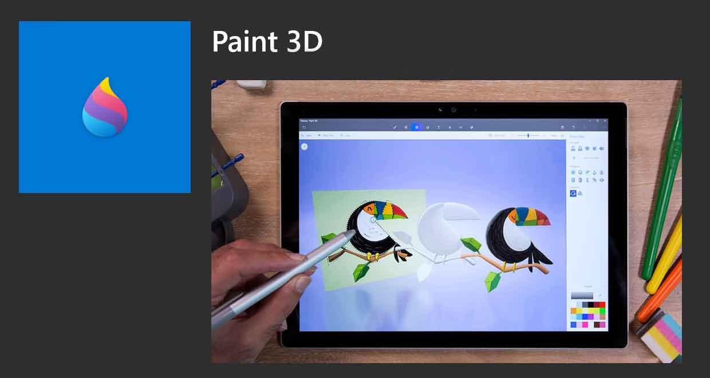 Paint 3D de Microsoft (Windows 10)