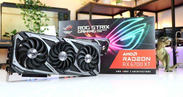 ROG Strix Radeon RX 6700 XT OC