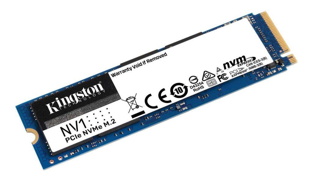 SSD NV1 PCIe NVMe de KingSton
