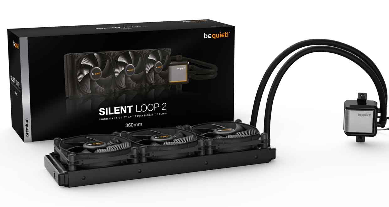 Watercooling AIO Silent Loop 2 360 de Be quiet