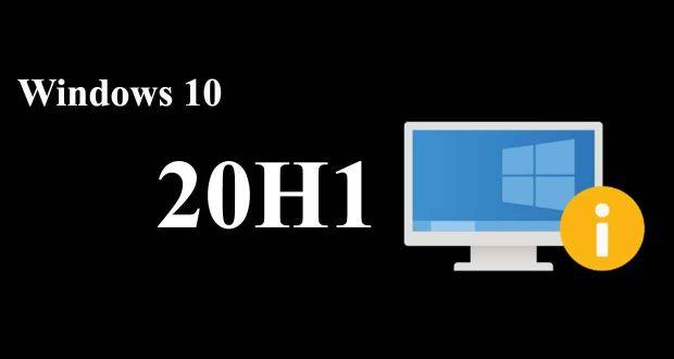 Windows 10 May 2020 Update – Un souci de compatibilité a été repéré