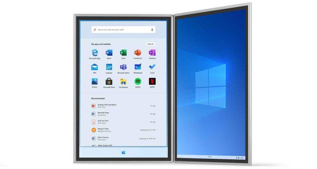 Système d'exploitation Windows 10X de Microsoft