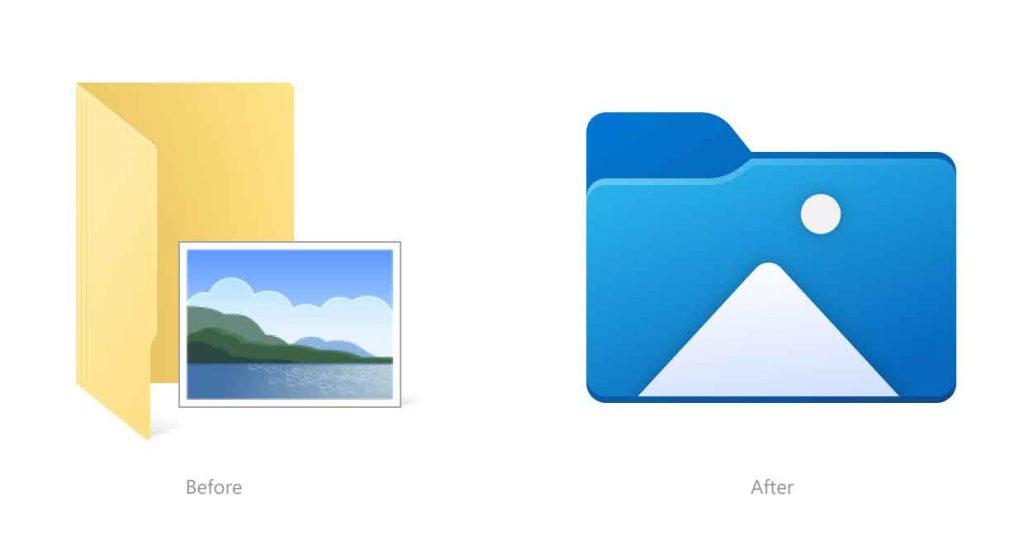 Windows 10 build 21343 - Nouvelles icônes de l'explorateur de fichiers