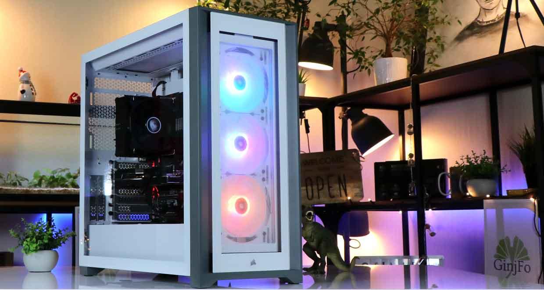 Boitier Corsair iCUE 5000X RGB