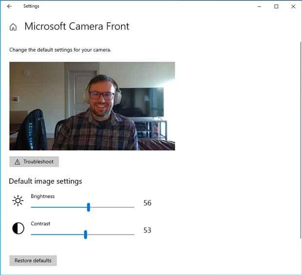 Windows 10 build 21354 - Cameras