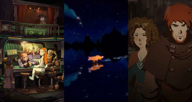 The First Tree, Ken Follett's The Pillars of the Earth et Deponia: The Complete Journey