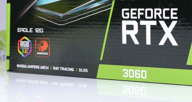 GeForce RTX 3060 Eagle de Gigabyte