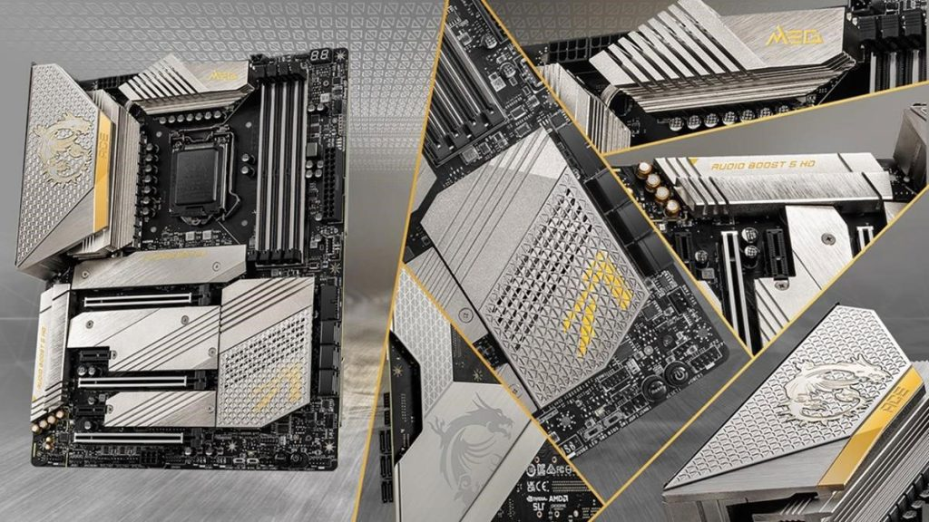 Carte mère MSI MEG Z590 ACE GOLD EDITION