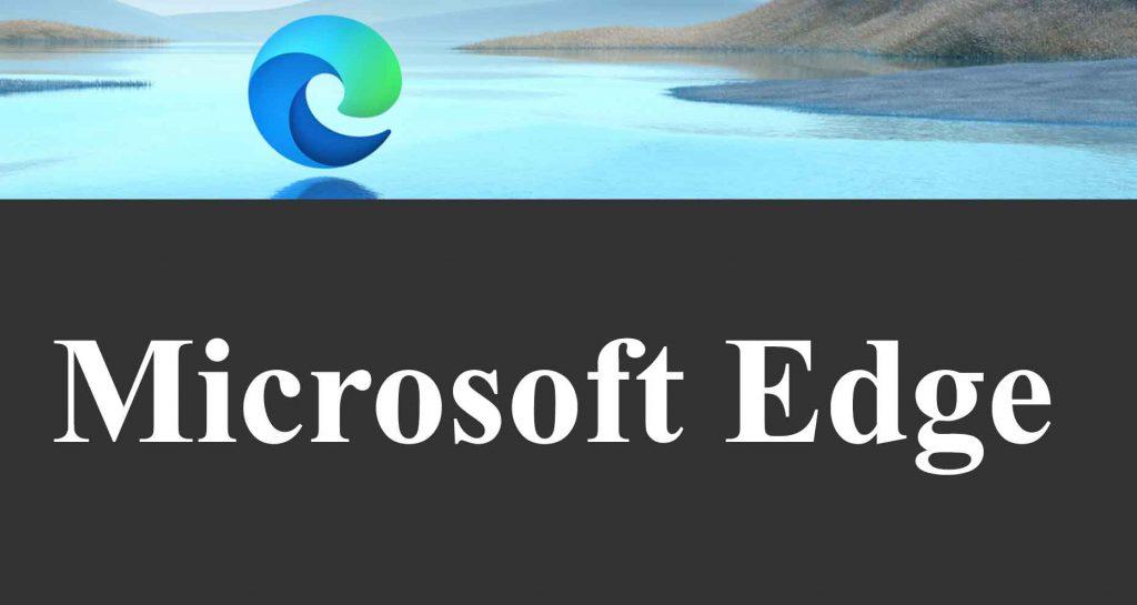 Navigateur Microsoft Edge
