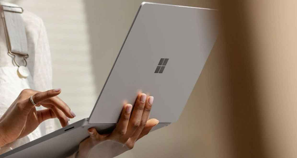 Surface Laptop 3 de Microsoft