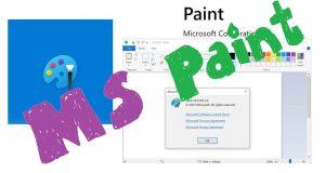 Paint sous Windows 10