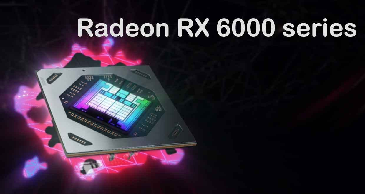 Radeon RX 6000 series d'AMD - Architecture RDNA 2