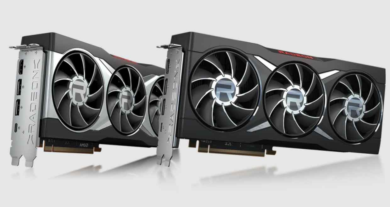 La Radeon RX 6800 XT Midnight Black
