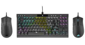 Souris Sabre Pro et RGB Pro et le clavier K70 RGB TKL
