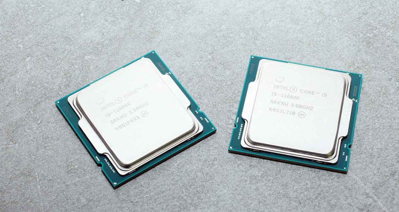 Processeurs Core i9-11900K et Core i5-11600K