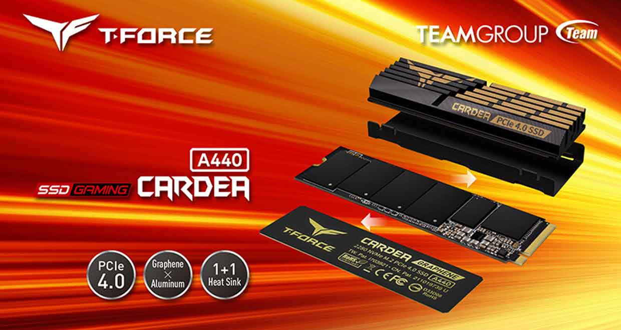 SSD T-Force CARDEA A440 de TeamGroup
