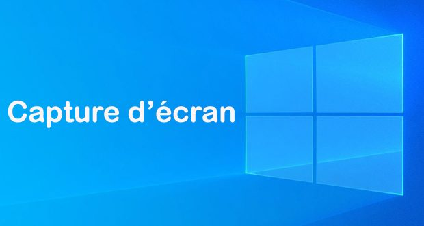 Windows 10 et la capture d'écran