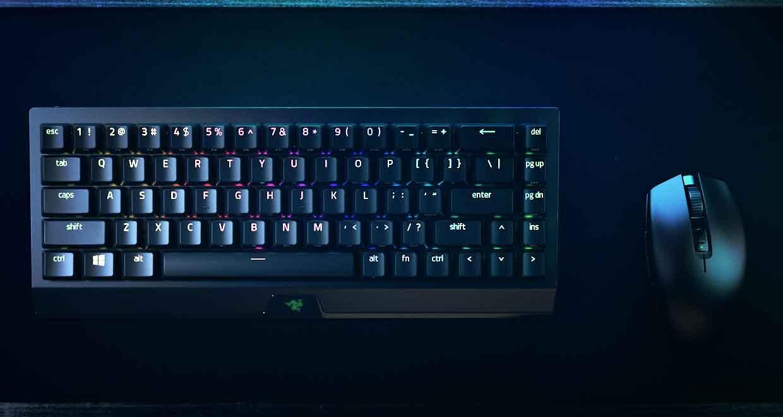 Clavier BlackWidow V3 Mini HyperSpeed de Razer