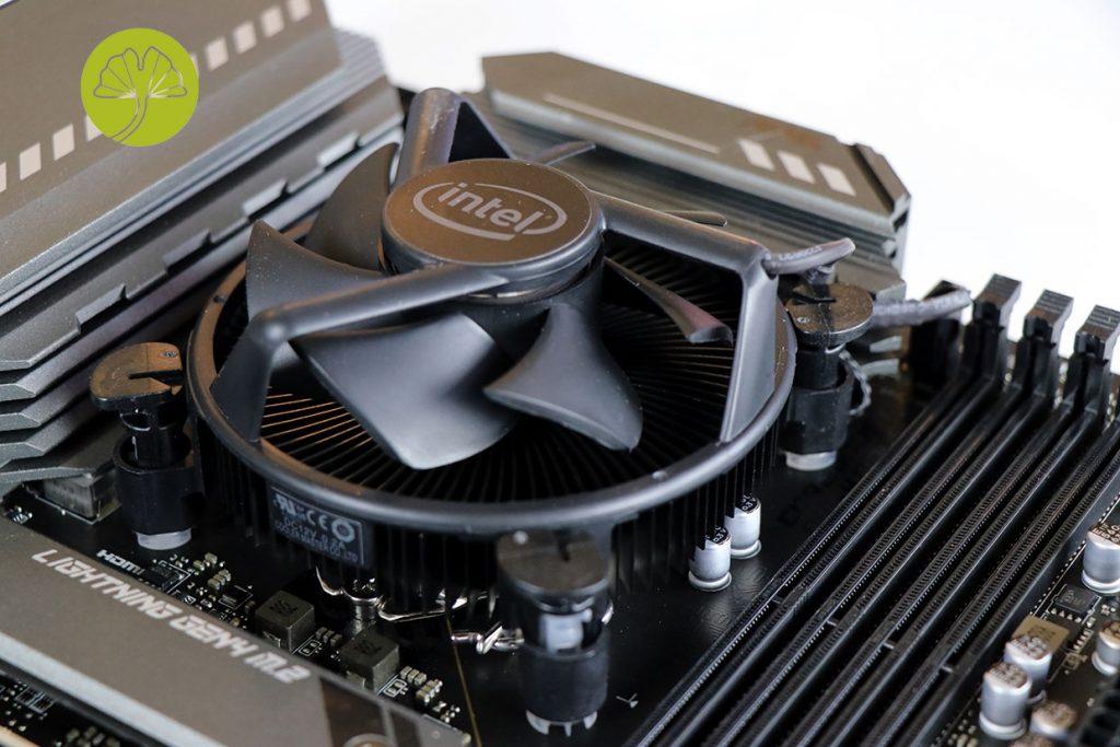 Core i5-11400F, ventirad box