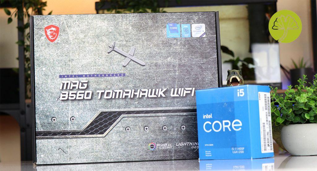 Carte mère MSI MAG B560 TOMAHAWK WIFI et Core i5-11400F